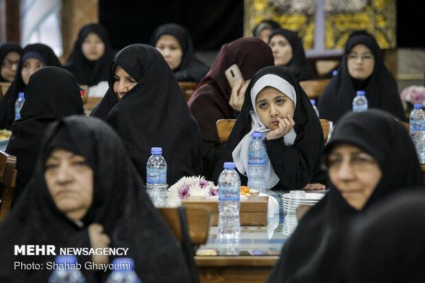 تجلیل از مادران و همسران شهدای مدافع حرم حزب الله لبنان