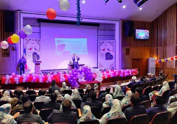 مراسم ازدواج دانشجویی ۸۰زوج در دانشگاه علوم پزشکی تبریز برگزار شد