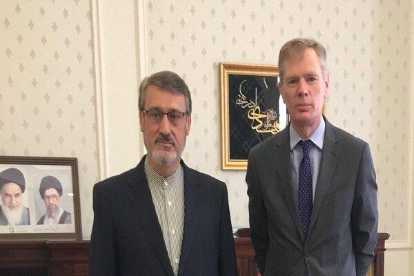 """تغريدة السفير البريطاني في طهران عن اجتماع بشأن """"انستكس"""""""