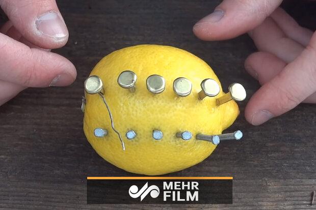 چگونه با داشتن یک لیمو ترش آتش روشن کنیم؟
