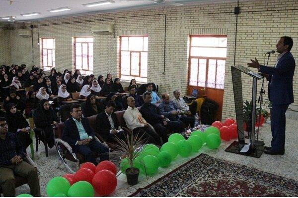 همایش تجلیل از دانش آموزان برتر بردخون برگزار شد