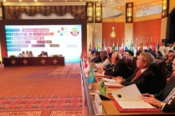 Zarif in the Asian Cooperation Dialogue (ACD) summit