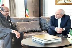 وزیر امور خارجه سریلانکا با ظریف دیدار کرد