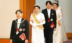 جاپان کےنئے بادشاہ کا عوام کی طرف سے پر جوش استقبال