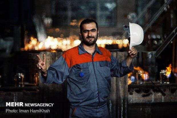 cam fabrikası işçileri