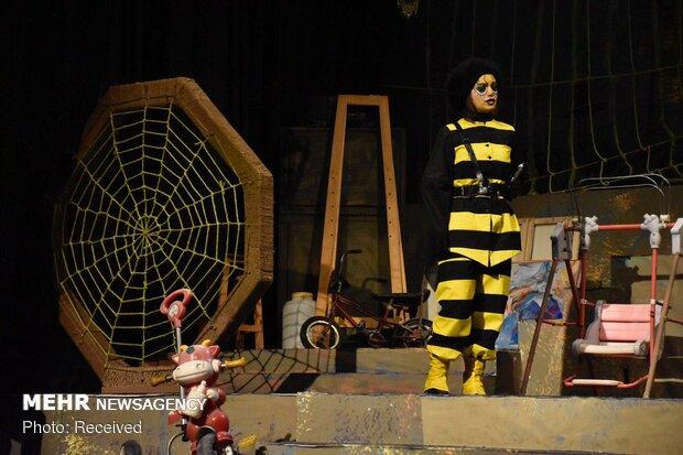 'Miss Moth' musical on stage in Tehran