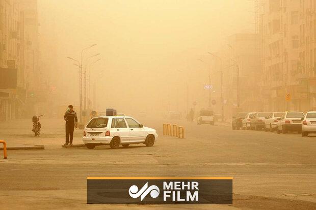 ایران کے جنوب مغربی علاقہ میں گرد و غبار کا خدشہ