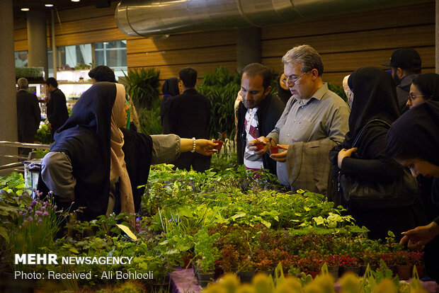 The 17th Tehran International Exhibition of Flowers and Plants