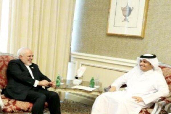 Iranian FM meets Qatari, Turkish counterparts in Doha