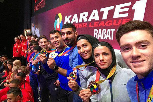 ايران تتبوأ المركز الخامس في بطولة الدوري العالمي للكاراتيه