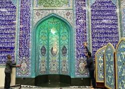 غبار روبی و آماده سازی ۱۰۳ مسجد گناباد برای ماه مبارک رمضان