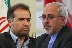 وزیر امور خارجه درگذشت والده کاظم جلالی را تسلیت گفت
