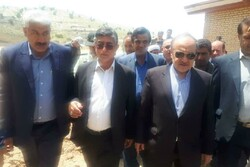 وزیر ورزش از سالنهای ورزشی شهر سیلزده معمولان بازدید کرد