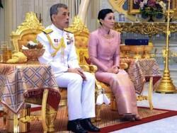 تھائی لینڈ کے بادشاہ کی اپنی ذاتی سکیورٹی گارڈ خاتون سے شادی