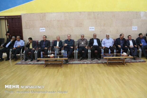 دیدار تیم های بسکتبال نفت آبادان و شهرداری گرگان