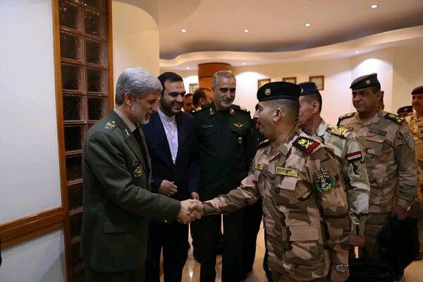 Defense coop. between Iran, Iraq to restore regional stability, security