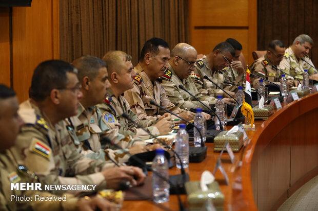 Iran, Iraq ranking commanders' meeting in Tehran