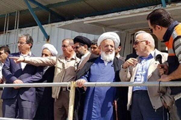 امام جمعه یزد از مجتمع معدنی و صنعتی چادرملو بازدید کرد