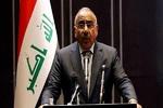Abdulmehdi ABD'nin Iraklı yetkililere karşı yaptırım kararını kınadı