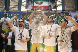İran'da Neft Abadan takımı Basketbol Ligi şampiyonu oldu