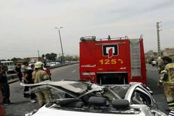 سه کشته در ۲ تصادف در آزادراه زنجان به قزوین