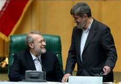 Larijani, Motahari on running for president