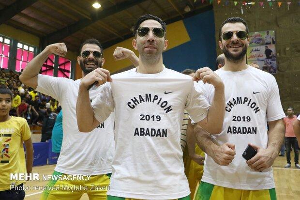 İran'da Abadan takımı Basketbol Ligi şampiyonu oldu