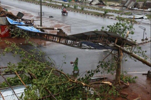 """بھارت میں سمندری طوفان """" فانی """" کے نتیجے میں 9 افراد ہلاک"""
