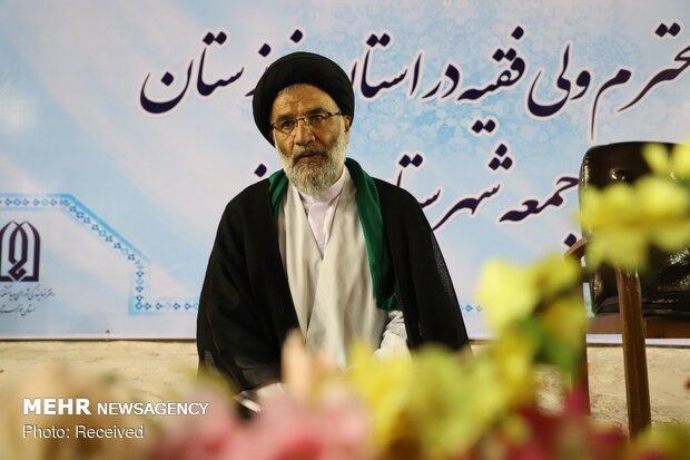 استقبال مردمی از نماینده ولی فقیه در استان خوزستان