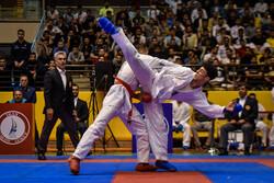 İran Büyükler Karate Milli Takımı İstanbul'da birinci oldu