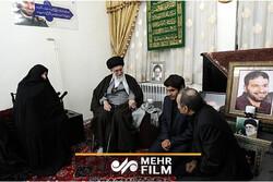 مادر شهید تهرانیمقدم درگذشت/ گفتگوی ایشان با رهبرانقلاب