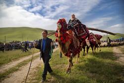 المهرجان  الثقافي-الرياضي لعشائر اذربيجان الشرقية/صور