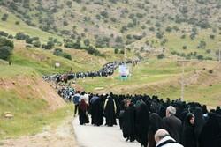 """مسيرة """"راهيان نور"""" في أعلى مرتفعات مدينة """"سربل ذهاب""""/ صور"""