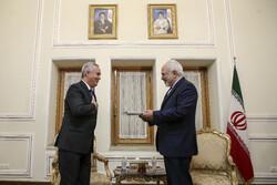 تقدیم استوارنامه سفیر جدید جمهوری تاجیکستان به محمد جواد ظریف