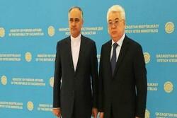 Iran, Kazakhstan discuss boosting bilateral ties