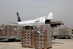 نخستین پرواز کارگو کالاهای رایانهای در فرودگاه پیام به زمین نشست
