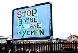 Stop sale of Italian bombs to Saudi regime