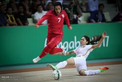 Iran's women's futsal