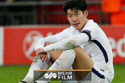 حرکت غیر ورزشی بازیکن کرهای تاتنهام