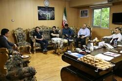 جلسه سرپرست فدراسیون کشتی با سرمربیان تیمهای ملی برگزار شد