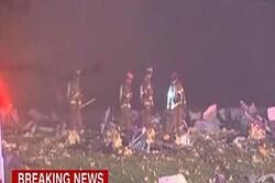 انفجاری مهیب در ایالت ایلینوی آمریکا با ۴ زخمی و ۳ ناپدید
