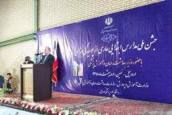 جشن ملی مدارس ابتدایی عاری از پوسیدگی دندان در نمین برگزار شد