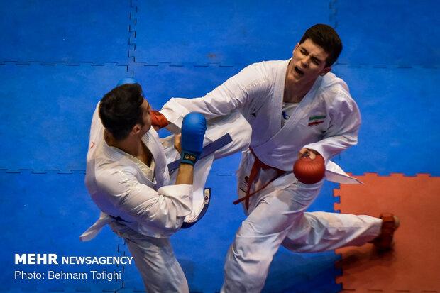 اختتامیه مسابقات سوپر لیگ کاراته باشگاههای کشور
