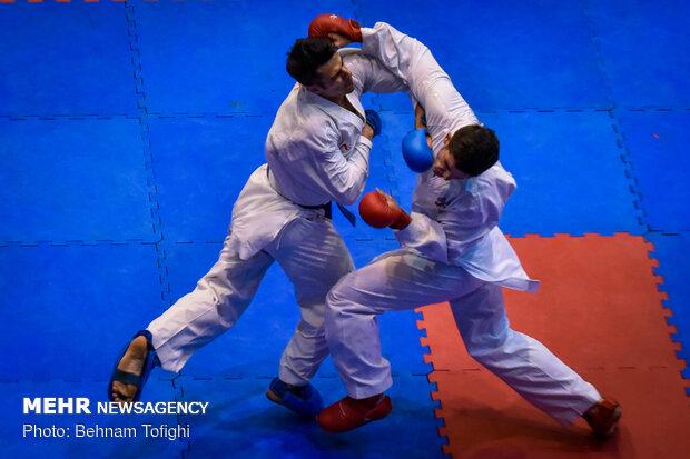 مسابقات کاراته شین رزم ذوالفقار کشور در اراک آغاز شد