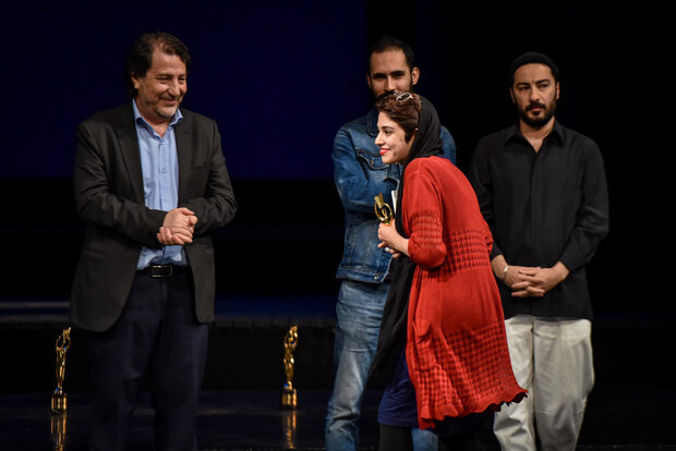 Closing ceremony of 22nd Iran Intl. University Theater Festival
