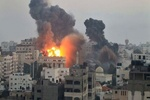 حمله جنگندههای صهیونیست به جنوب نوار غزه
