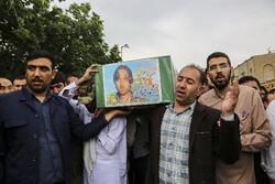 مدافع حرم دو شہیدوں کی تشییع جنازہ