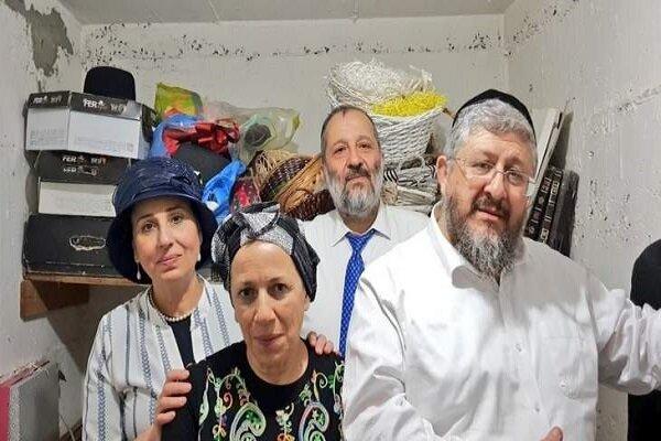 İsrail İçişleri Bakanı korkudan sığınağa kaçtı
