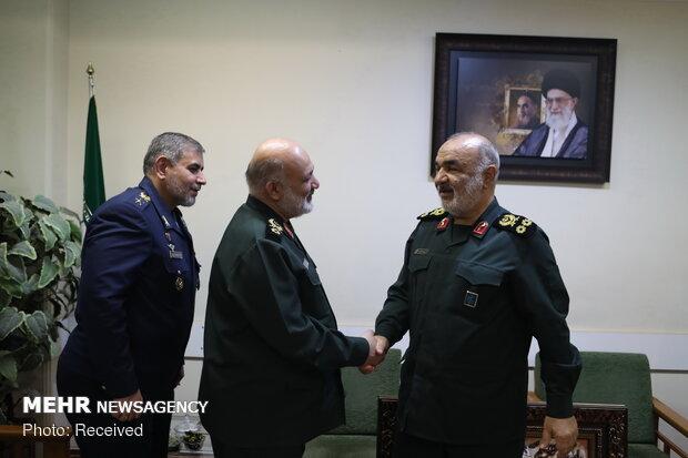 IRGC chief, defense min. meeting in Tehran
