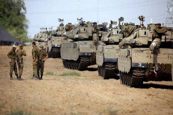 مانور ارتش رژیم صهیونیستی در شهر «الخلیل»